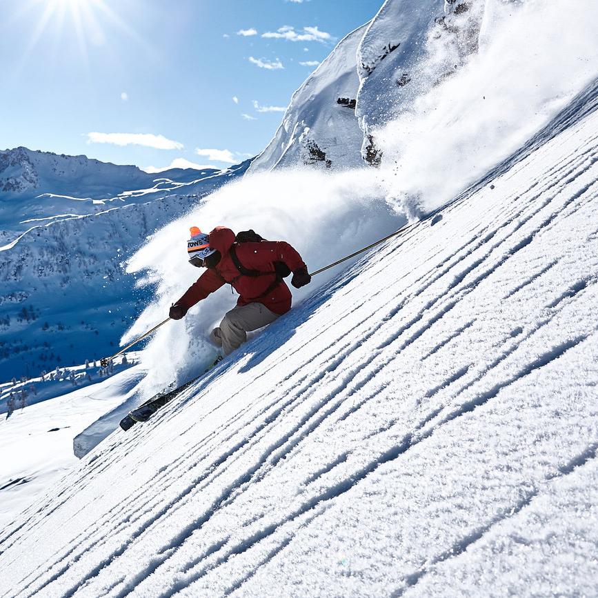 горные лыжи экстремальное катание