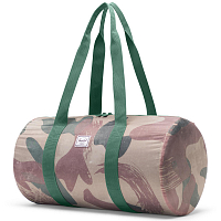 Herschel PACKABLE DUFFLE BRUSHSTROKE CAMO
