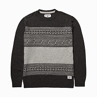 Billabong MAYFIELD SWEATER DARK GREY HEATH