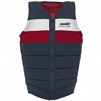 FOLLOW BEN H IMPACT MENS VEST NAVY
