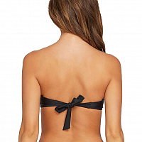 Volcom SIMPLY SOLID BANDEAU BLACK