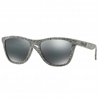 Oakley Frogskins POLISHED WHITE/BLACK IRIDIUM