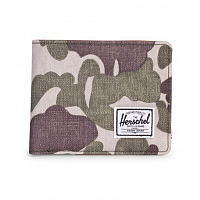 Herschel HANK RFID Frog Camo/Tan Synthetic Leather