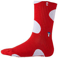 Psockadelic SHROOM RED/WHT PSOCKS RED/WHT