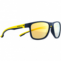 Spect RED BULL TWIST matt dark blue/matt yellow temple/blue/brown with
