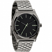 Nixon Time Teller POLISHED GUNMETAL/LUM
