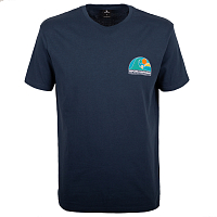 Rip Curl ANIME SESSION SS TEE NAVY