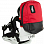 CRABGRAB BINDING BAG black and red