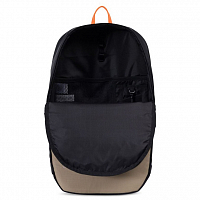 Herschel MAMMOTH LARGE Black/Brindle/Surf the Web