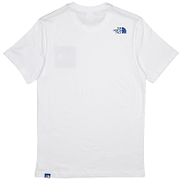 The North Face M S/S FINE TEE TNF WHITE/TURKI(2GQ)