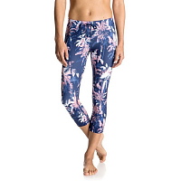 Roxy STAY ON CAPRI J PANT BLUE DEPTHS WASHED PALM