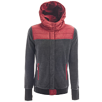 Holden SHERPA HYBRID ZIP UP BLACK