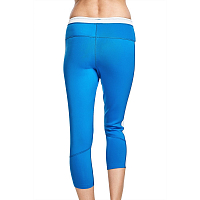 Glidesoul LEGGINGS 1 MM CROPPED BLUE/WHITE