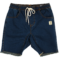 Rusty BALLER  DENIM ELASTIC SHORT INDIGO