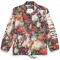 Herschel WOMEN'S VOYAGE COACH Fall Floral/White Screen Print