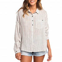 Rip Curl WHITE WASH LONG SLEEVE SHIRT SEA SALT