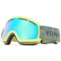 VonZipper TRIKE GREEN SATIN / QUASAR CHROME