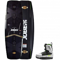 Jobe CONFLICT WAKEBOARD & NITRO COOL SET GREY