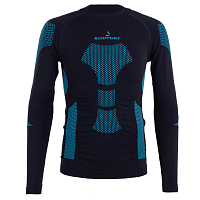 BODY DRY KANGCHENJUNGA LONG SLEEVE SHIRT Black/Blue