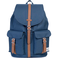 Herschel STUDIO DAWSON X-LARGE Navy/Tan Synthetic Leather