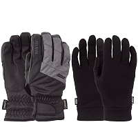 Pow WARNER GTX SHORT GLOVE/WARM Charcoal