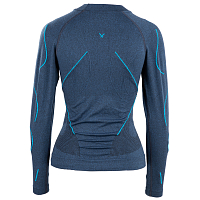 BodyDry NANGA PARBAT LONG SLEEVE SHIRT JEANS BLUE