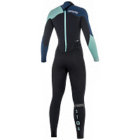 Mystic STAR FULLSUIT 3/2MM BZIP WOMEN NAVY
