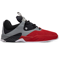 DC KALIS S M SHOE RED/BLACK/GREY