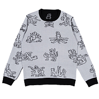 RIPNDIP NERMASUTRA KNIT SWEATER BLACK