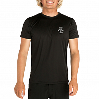 Rip Curl SEARCH LOGO S/SL UV TEE BLACK