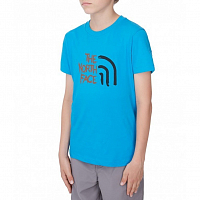 The North Face S/S COTTON TEE QUILL BLUE