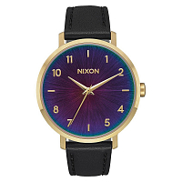 Nixon ARROW LEATHER GOLD / BLACK / RAINBOW