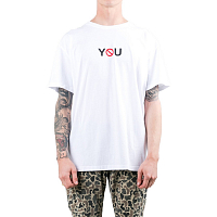 Rusty ANTI YOU SHORT SLEEVE TEE White