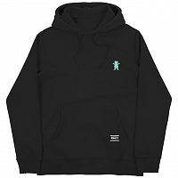 Grizzly OG BEAR EMBROIDERED HOODIE Black / Tiffany