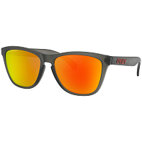 Oakley Frogskins MATTE GREY SMOKE/PRIZM RUBY POLARIZED