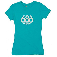 686 WOMENS WREATH S/S T-SHIRT LAGN