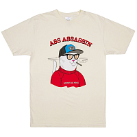RIPNDIP ASS ASSASIN TEE VINTAGE WHITE