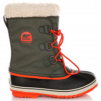 SOREL YOOT PAC NYLON SURPLUS GREEN