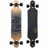 Z-Flex DROP THRU LONGBOARD CRACKED BLACK