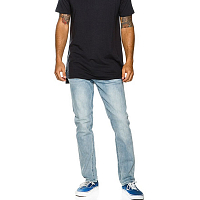 RVCA HEXED DENIM SEA BLEACH