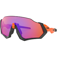 Oakley FLIGHT JACKET Neon Orange/Prizm Trail