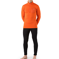 ARCTERYX RHO AR BOTTOM MEN'S BLACK