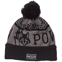 Pow KIDS FOX BEANIE TRUE BLACK