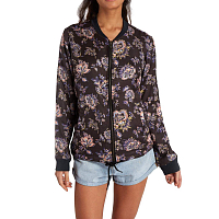 Billabong TROPICALE JACKET BLACK FLORAL