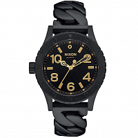 Nixon 38-20 ALL BLACK CHAIN