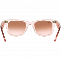 RAY BAN WAYFARER DEMI GLOSS PINK/PINK GRADIENT BROWN PHOTO