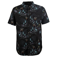 Billabong SUNDAYS FLORAL SS BLACK