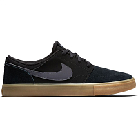 Nike SB PORTMORE II SOLAR BLACK/DARK GREY-GUM LIGHT BROWN