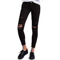 LEVI'S® 710 SUPER SKINNY ATOMIC BLACK