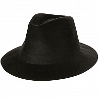 Rusty THE DEANE FELT HAT BLACK